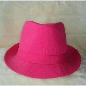 Pink Fedora Hat